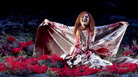 Elena Mosuc as the title character in 'Lucia di Lammermoor' at the Teatro Regio in Turin.